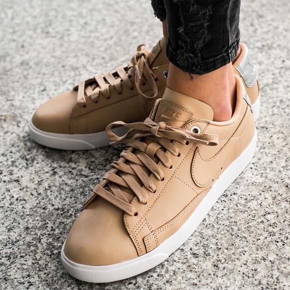 new style d4858 a9bb1 Nike blazer premium low QS bio beige